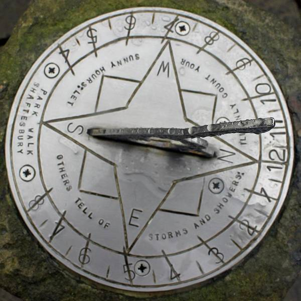 Photograph - Shaftesbury Sundial by Tony Murtagh