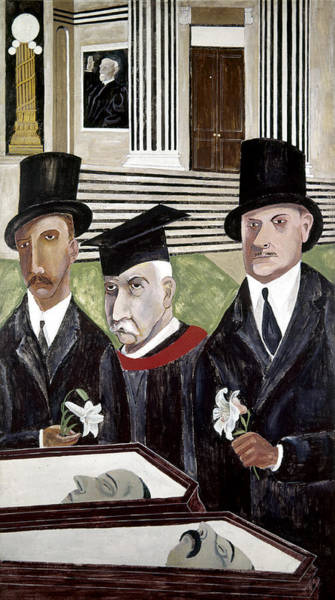 Courthouse Painting - Shahn Sacco And Vanzetti by Granger