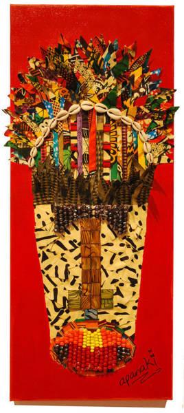 Tapestry - Textile - Shaka Zulu by Apanaki Temitayo M