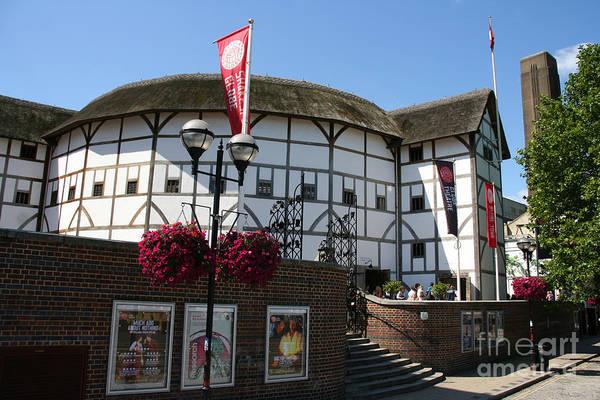 Bankside Photograph - Shakespeare's Globe Theatre by Laina Watt