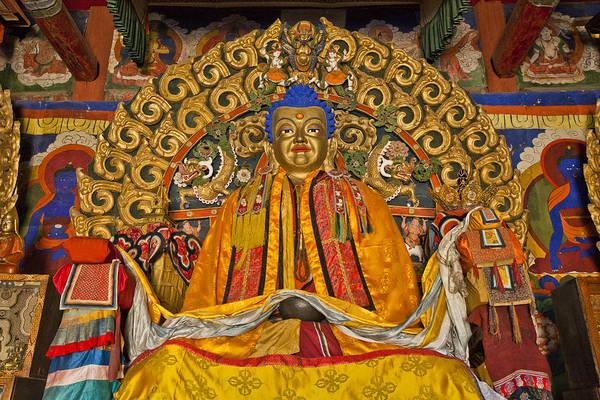 Photograph - Shakymuni Buddha Erdene Zuu Monastery by Colin Monteath