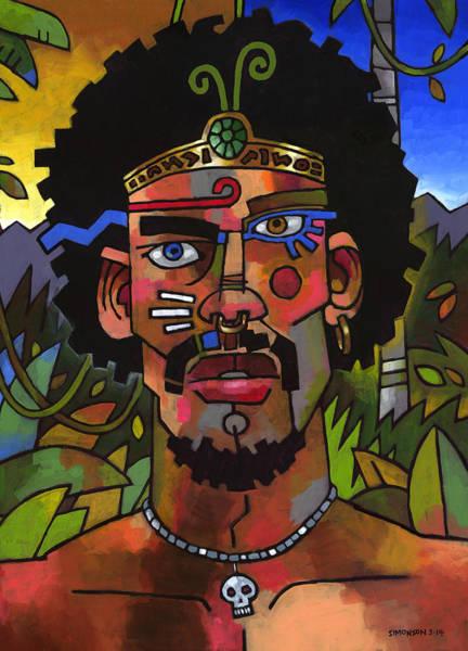 Guru Painting - Shaman by Douglas Simonson