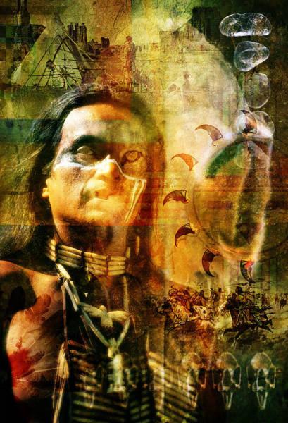 Tribal Dance Digital Art - Shaman. by Mark Preston