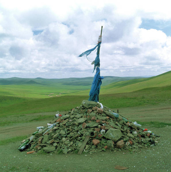 Crossroads Photograph - Shamanism by Mark De Fraeye/science Photo Library