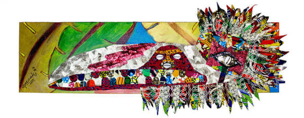 Tapestry - Textile - Shango Firebird by Apanaki Temitayo M