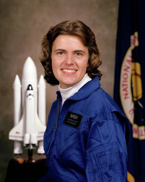 Professions Photograph - Shannon Lucid by Nasa/johnson Space Center