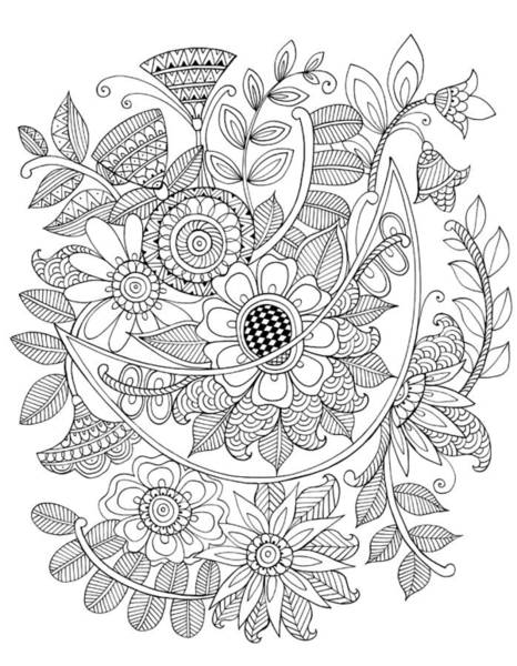 Colours Drawing - Shape Pattern 6 by MGL Meiklejohn Graphics Licensing