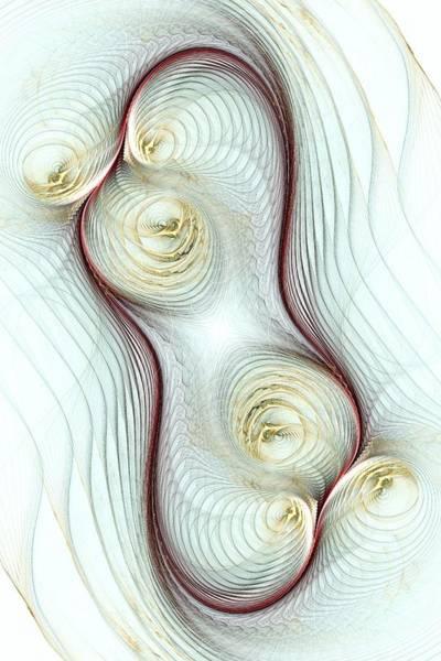 Digital Art - Shapes by Anastasiya Malakhova