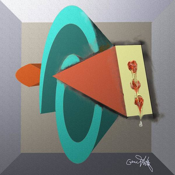 Painting - Shapes by Eugene Foltuz