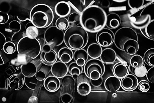 Pipes Photograph - Shapes Large by Robert Hayton