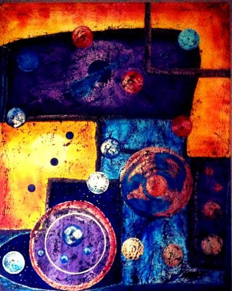 Michael Ferguson Wall Art - Painting - Shapes by Michael Ferguson