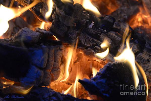 Flammable Wall Art - Photograph - Shapes Of Fire 641 by Arik Baltinester