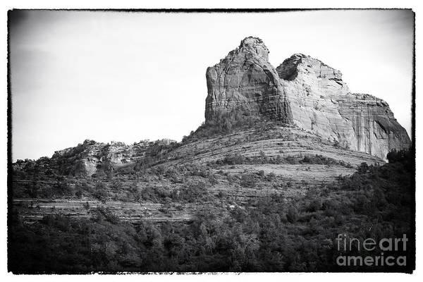 Red Rocks Of Sedona Photograph - Shapes Of Oak Creek Canyon by John Rizzuto