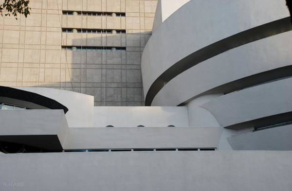 Photograph - Shapes Of The Guggenheim by Rob Hans