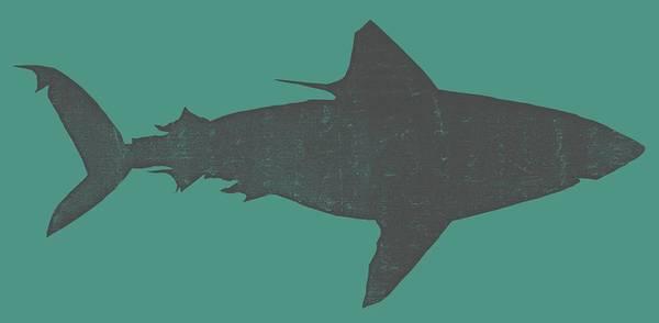 Digital Art - Shark Ll by Michelle Calkins