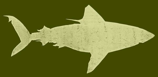 Digital Art - Shark by Michelle Calkins