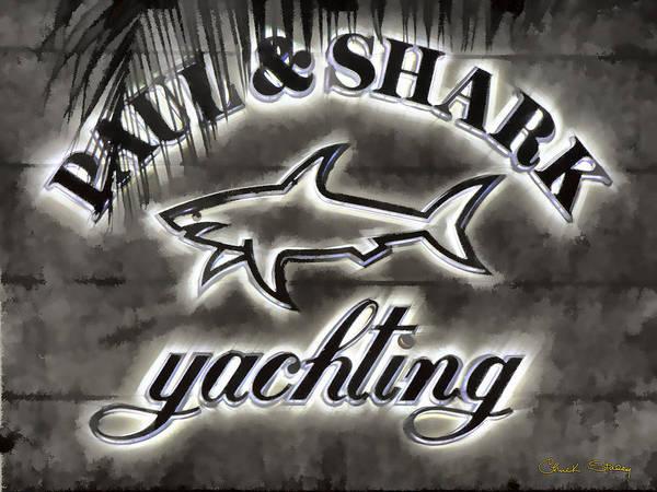 Photograph - Shark Sign by Chuck Staley