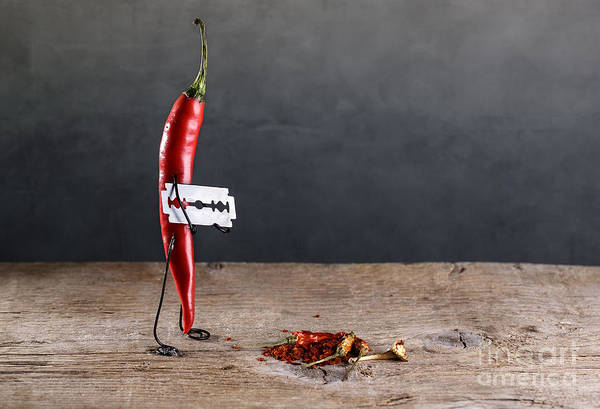 Wall Art - Photograph - Sharp Chili by Nailia Schwarz