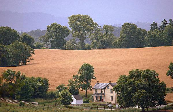Sharpsburg Photograph - Sharpsburg Valley by M Hess