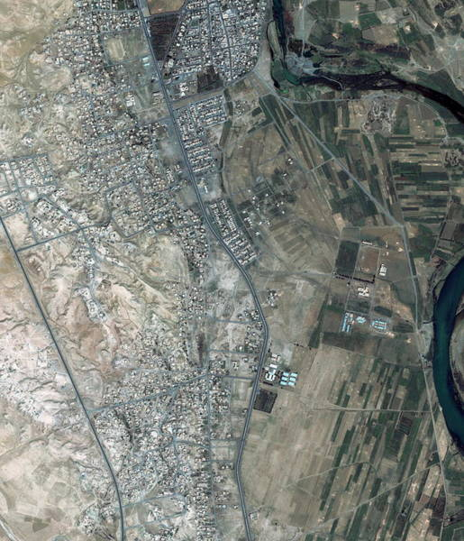 Iraqi Photograph - Sharqat by Geoeye/science Photo Library