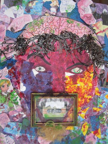 Anguish Mixed Media - Shattered Memories by Joe Ryan