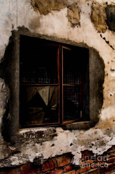 Wall Art - Photograph - Shattered Past by Venetta Archer