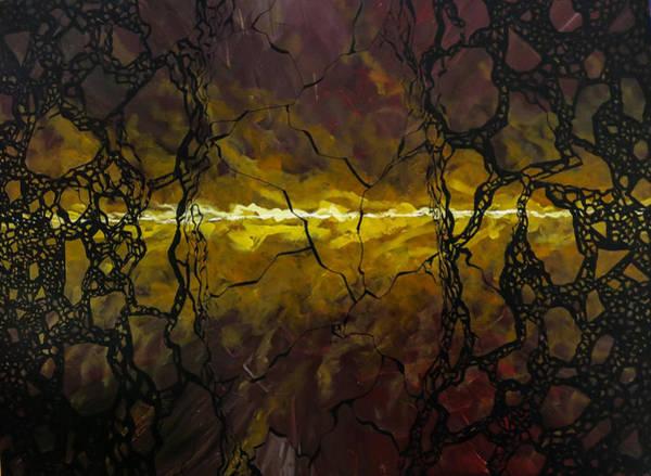 Painting - Shatteredfury by Joel Tesch