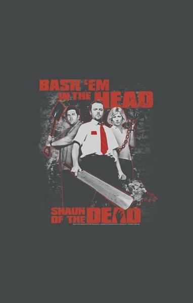Frost Digital Art - Shaun Of The Dead - Bash Em by Brand A