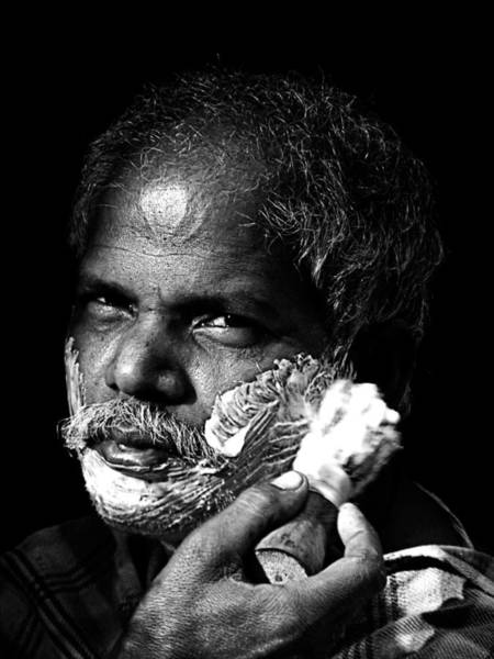 Photograph - Shave by Arkamitra Roy