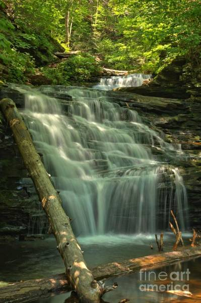 Photograph - Shawnee Falls by Adam Jewell