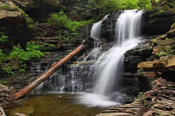 Photograph - Shawnee Falls by Mike Farslow