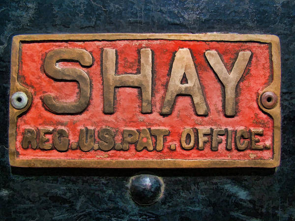 Lima Photograph - Shay Builders Plate by Ken Smith