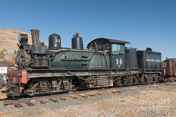 Photograph - Shay Engine 14 In The Colorado Railroad Museum by Fred Stearns