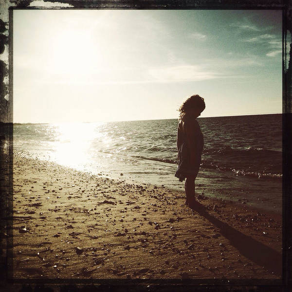 Photograph - She And The Sea by Natasha Marco