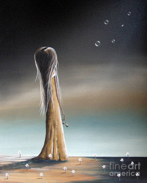 Wall Art - Painting - She Cried A Miracle For You Today By Shawna Erback by Erback Art