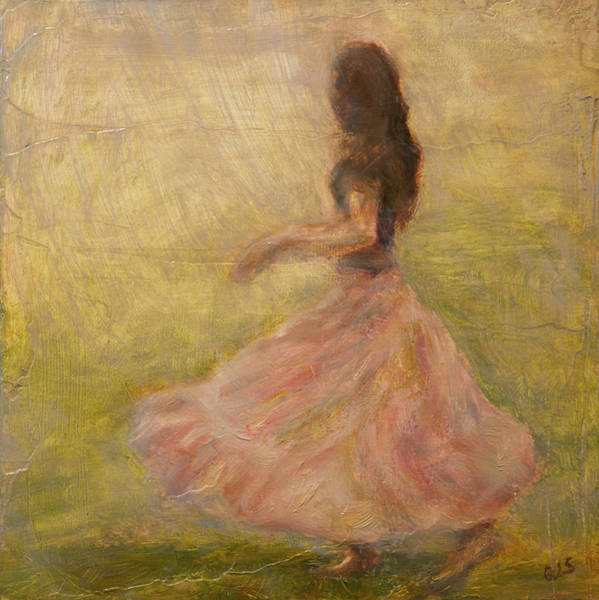 Painting - She Dances With The Rain by Quin Sweetman