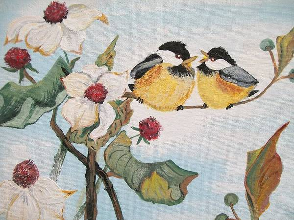 Painting - She Said by Sharon Duguay