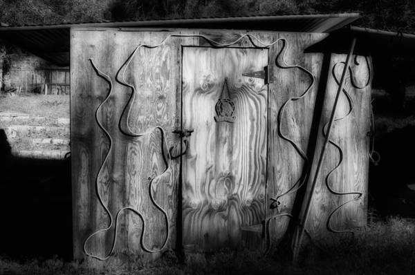 Toolshed Wall Art - Photograph - Shed by Hugh Smith