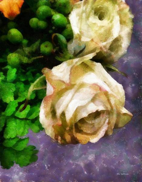 Painting - Shedding Stardust by RC DeWinter