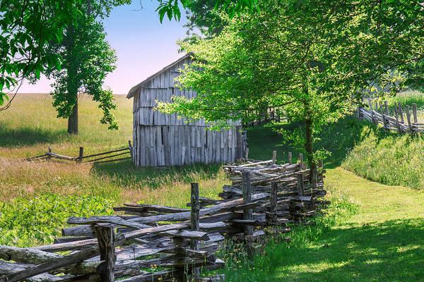 Photograph - Sheep Barn by Mary Almond
