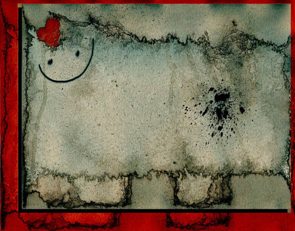 Wall Art - Digital Art - Sheep Or Not So - Bb06 by Variance Collections
