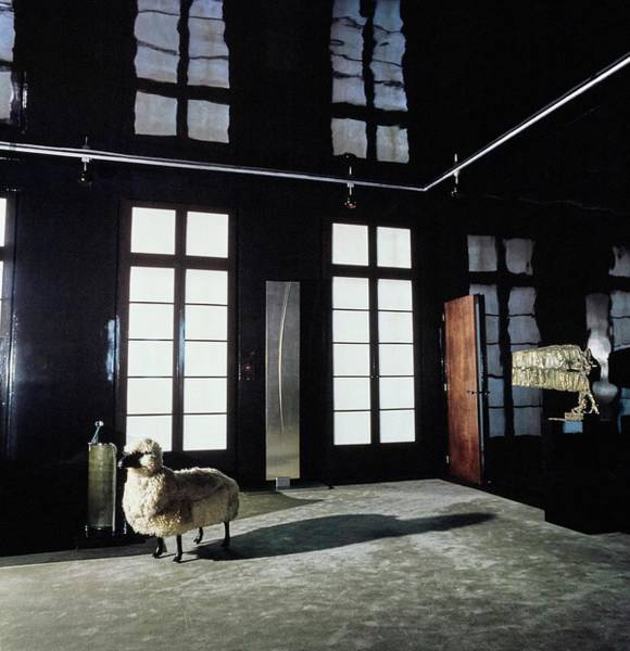 Wall Art - Photograph - Sheep Sculpture By Francois-xavier Lalanne by Horst P. Horst