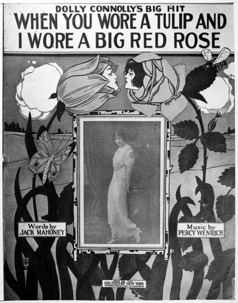 Photograph - Sheet Music Cover, C1924 by Granger