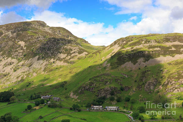 Glenridding Wall Art - Photograph - Sheffield Pike Above Glenridding In The Lake District by Louise Heusinkveld