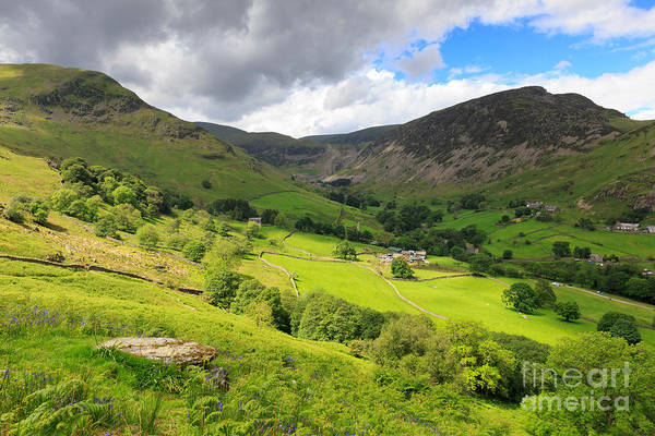 Glenridding Wall Art - Photograph - Sheffield Pike The Nab And The Disused Mine Above Glenridding by Louise Heusinkveld