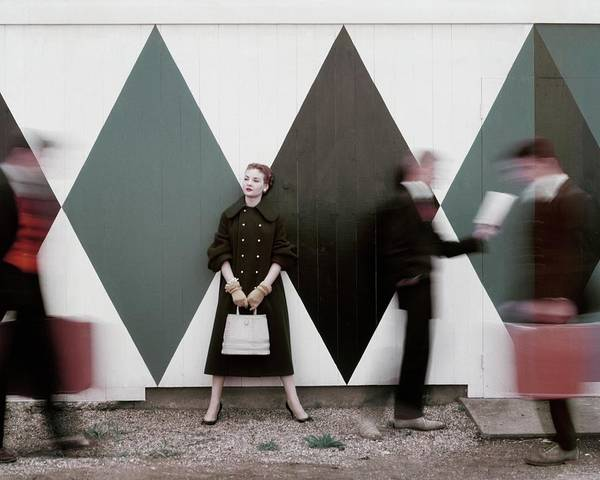 Visual Arts Photograph - Sheila Kilgore Amid Passersby by Leombruno-Bodi