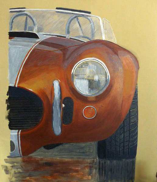 Painting - Shelby Ac Cobra by Richard Le Page