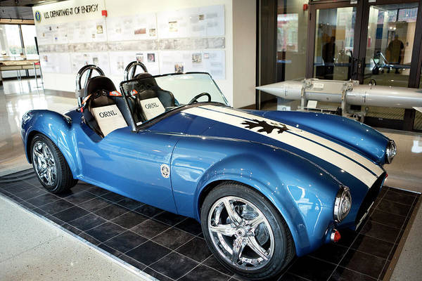 Oak Ridge National Laboratory Photograph - Shelby Cobra 3d Printable Sports Car by Oak Ridge National Laboratory/us Department Of Energy/science Photo Library