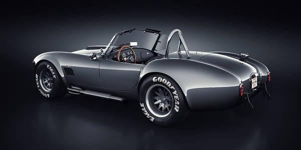 3d Render Digital Art - Shelby Cobra 427 - Venom by Marc Orphanos