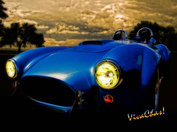 Ac Cobra Wall Art - Photograph - Shelby Cobra Before The Storm by Chas Sinklier